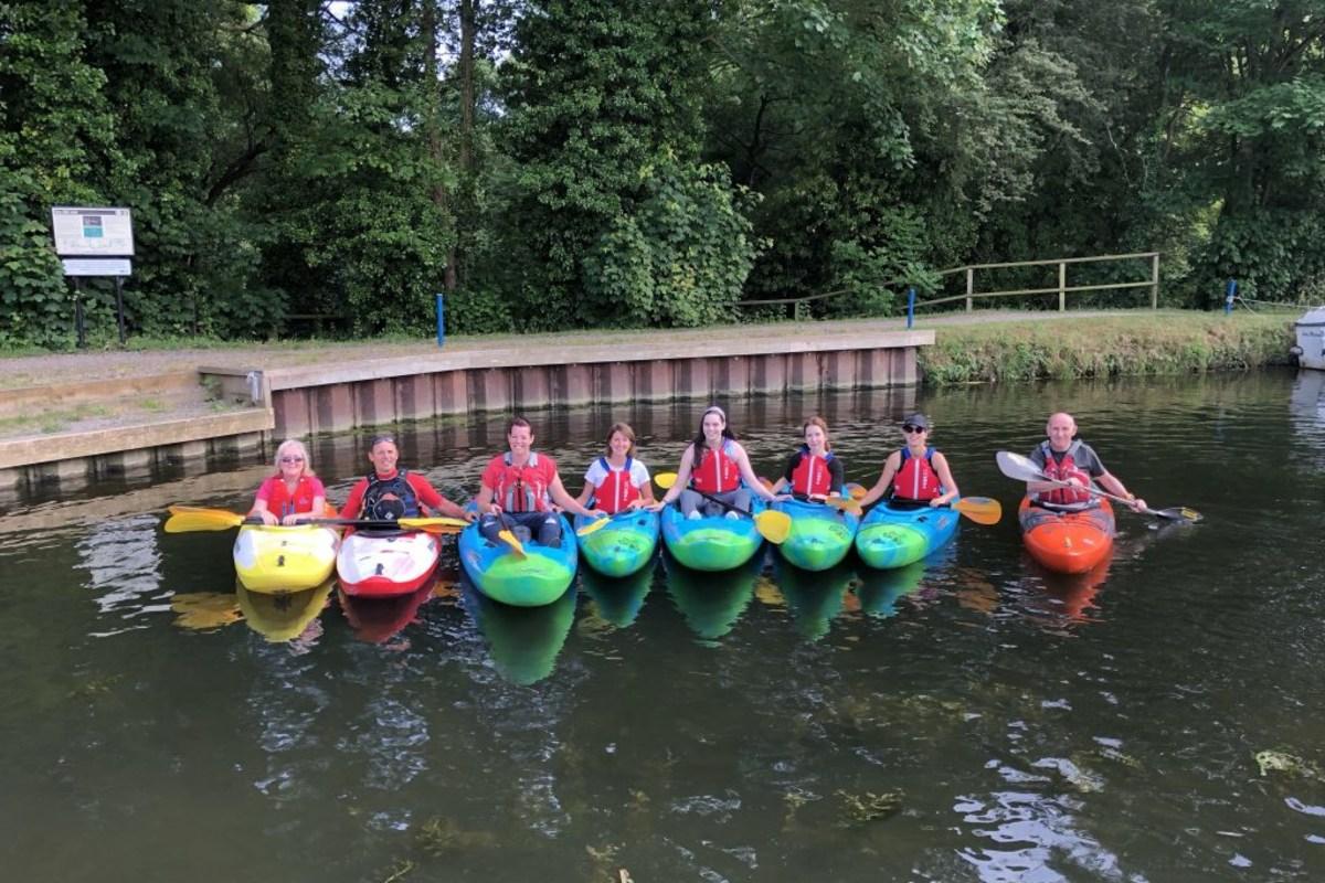 Kayaking with Essex Slalom Squad