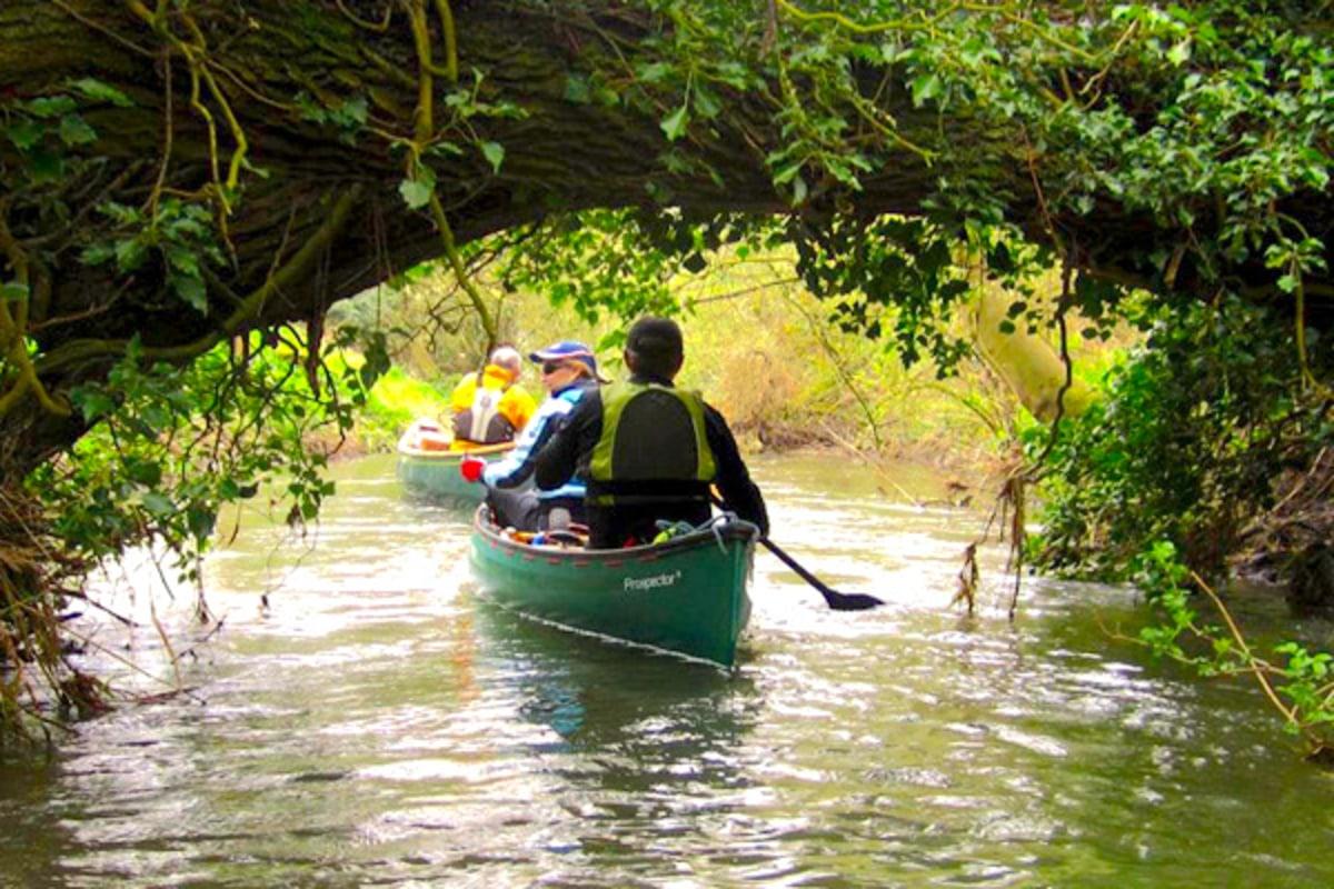 Canoeing with Maldon Canoe Club