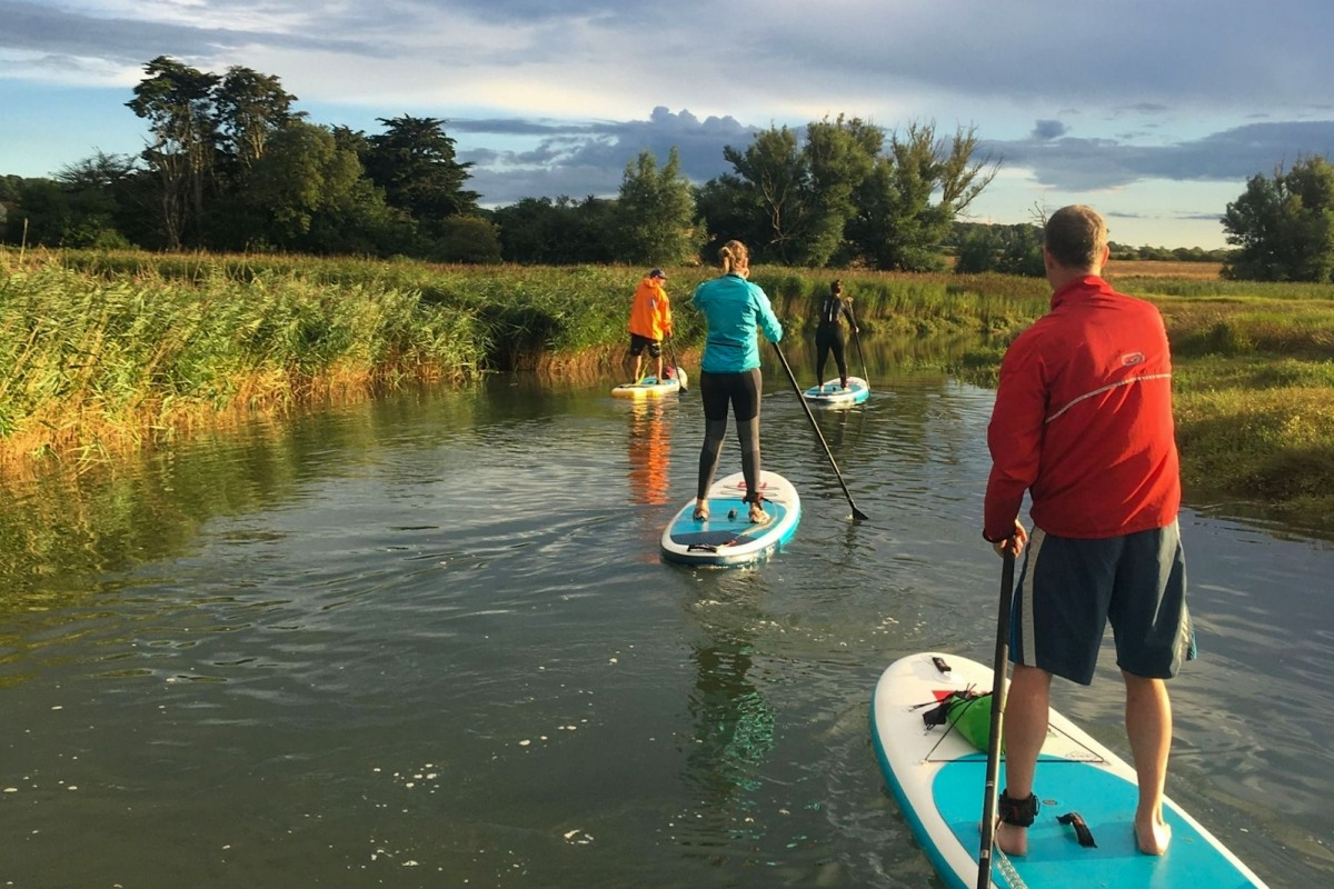 SUP with Brancaster Boards