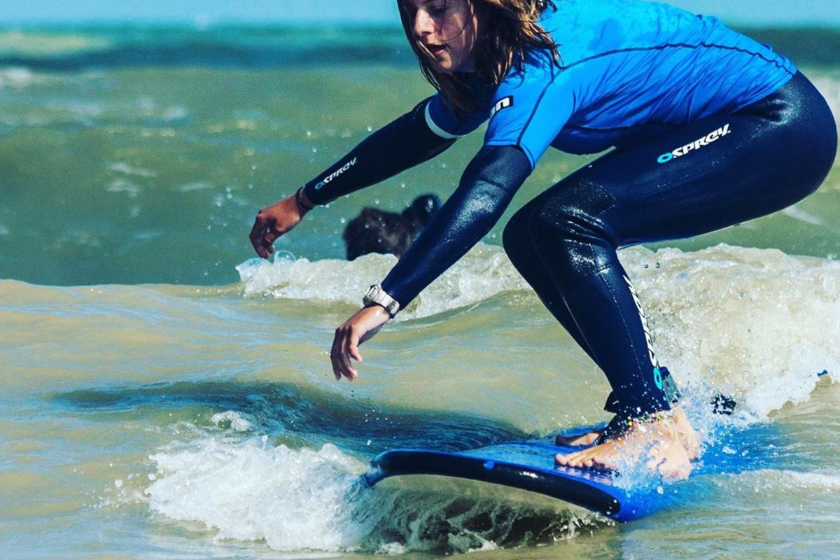 Surfing with Kent Surf School