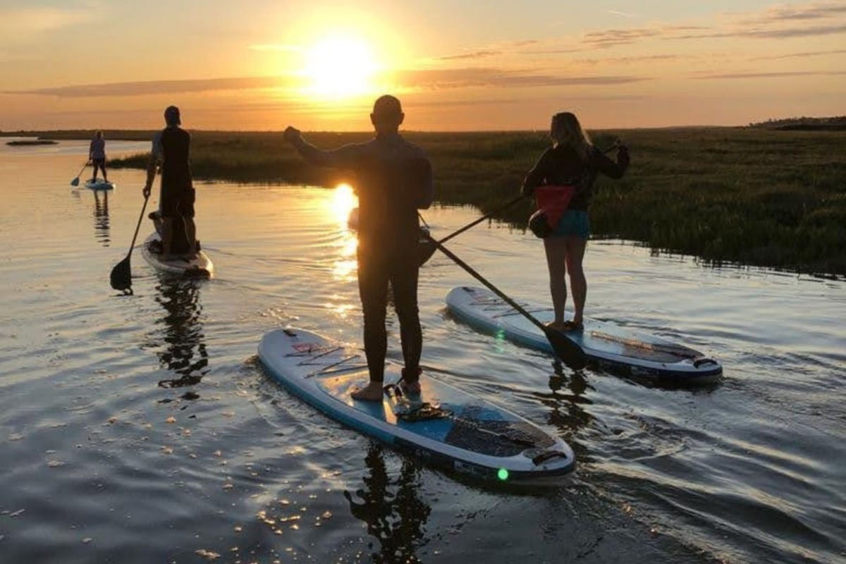 Book paddleboard hire with Brancaster Boards