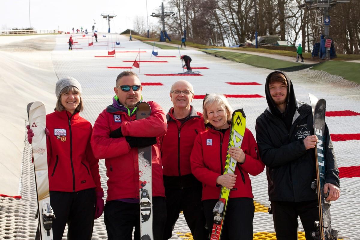 norfolk snowsports club ski instructors