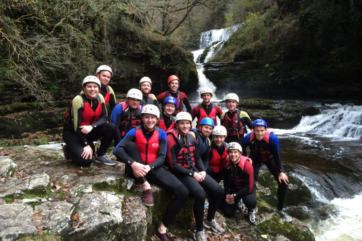 book canyoning brecon beacons
