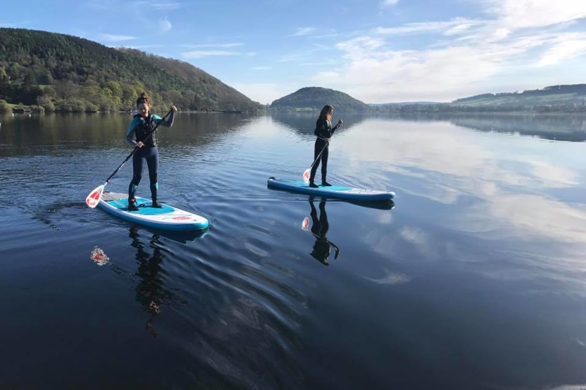 ullswater stand-up paddleboarding