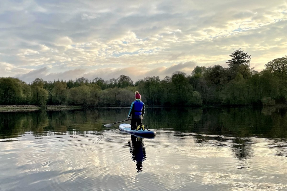 Book paddleboarding with Moffat SUP Hire in Scotland