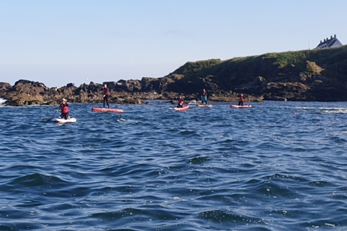 Book paddleboarding with Granite Adventures in Aberdeen