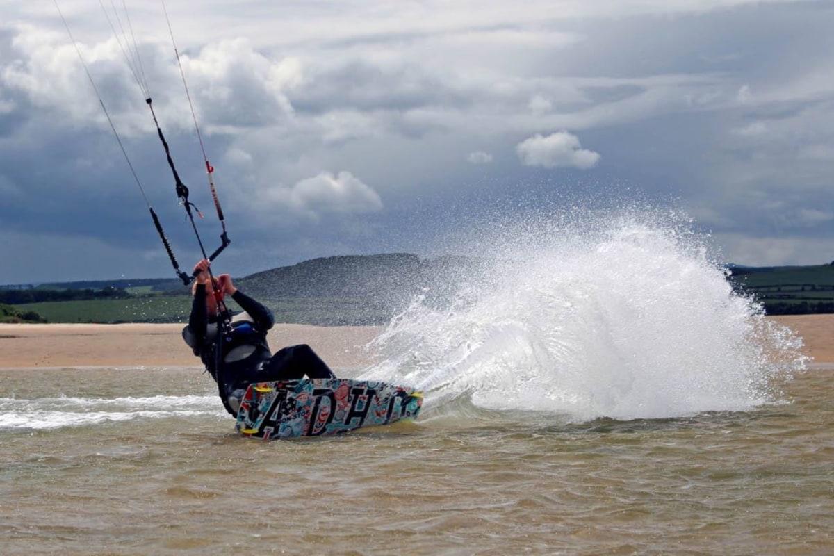 ka adventure sports kitesurfing northumberland