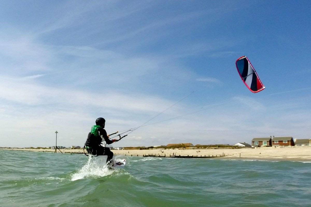 get kiteboarding chichester west sussex