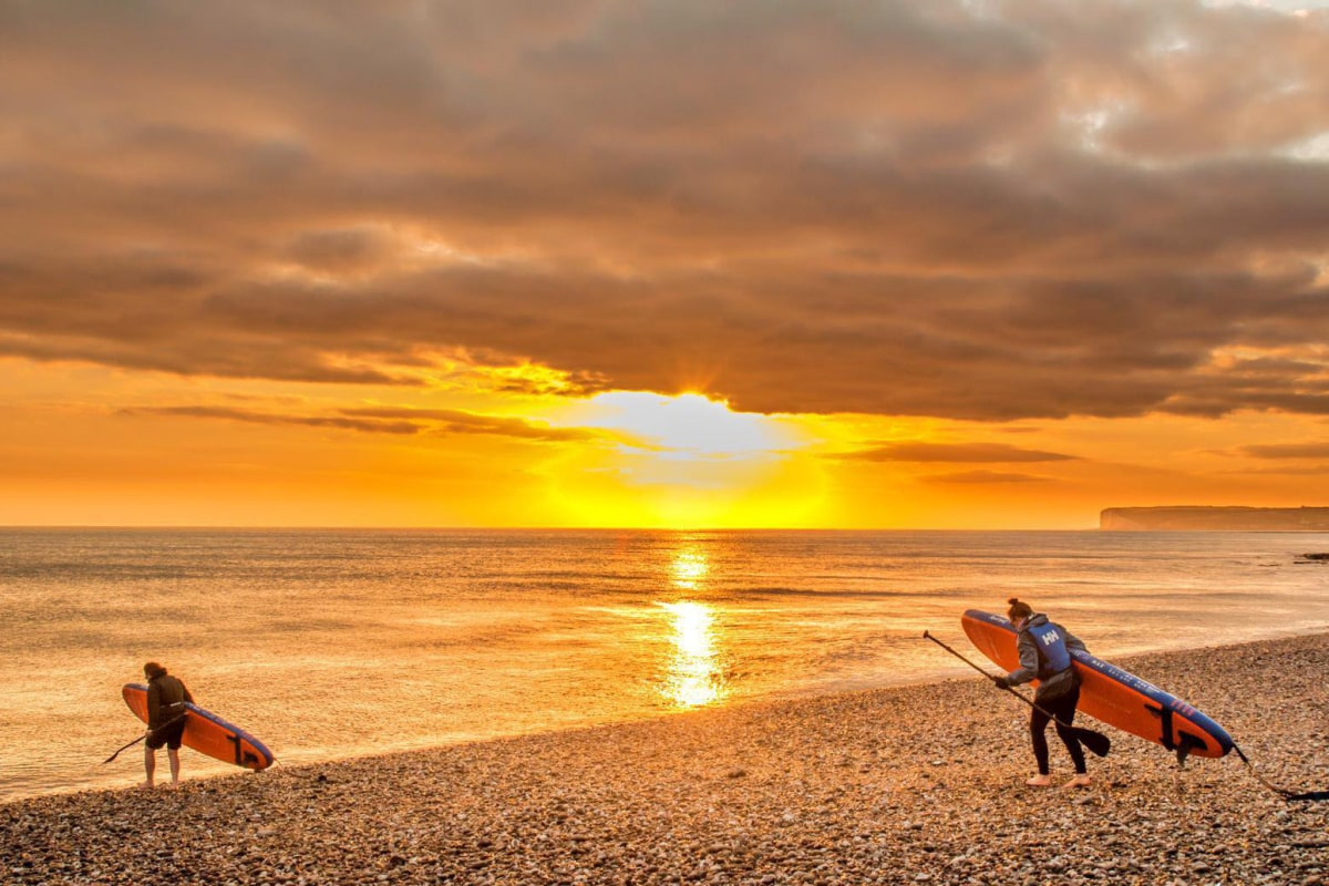 sussex paddleboard hire eastbourne