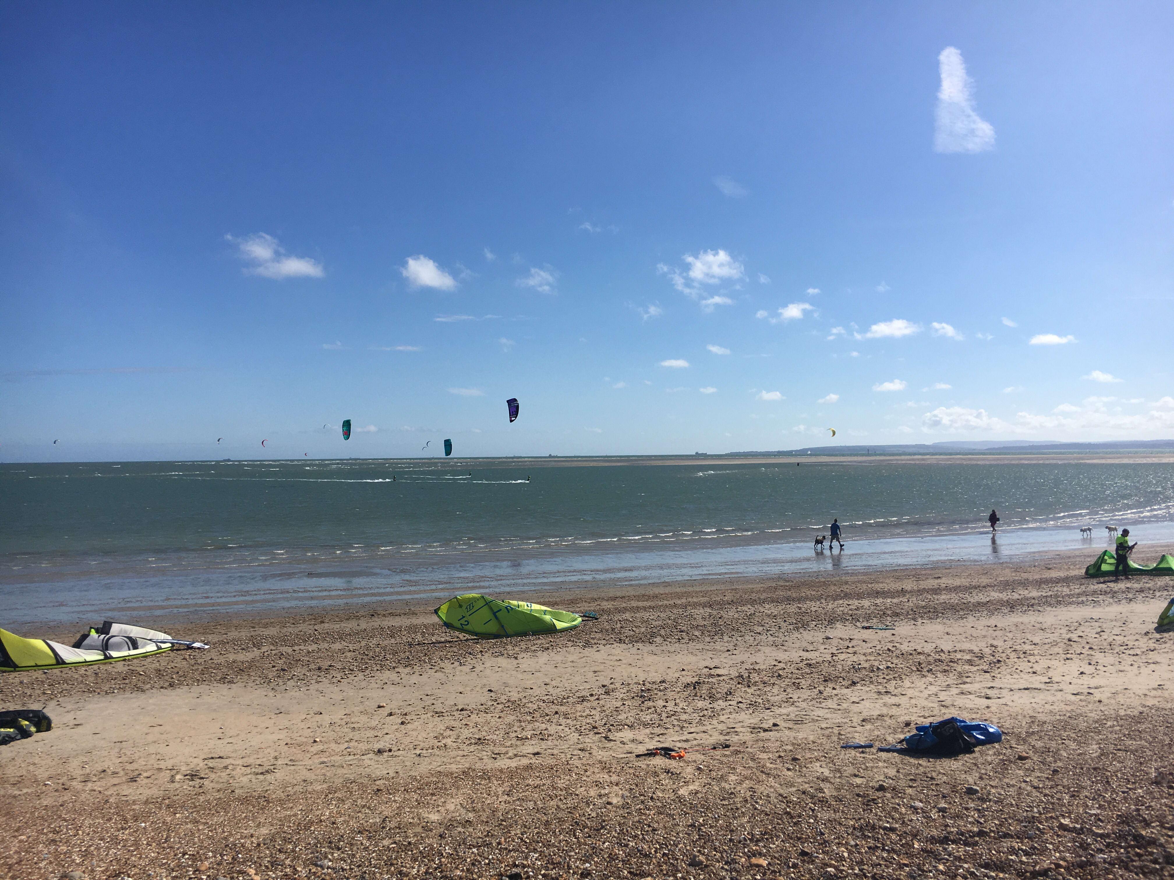 Kitesurfing in Hayling Island