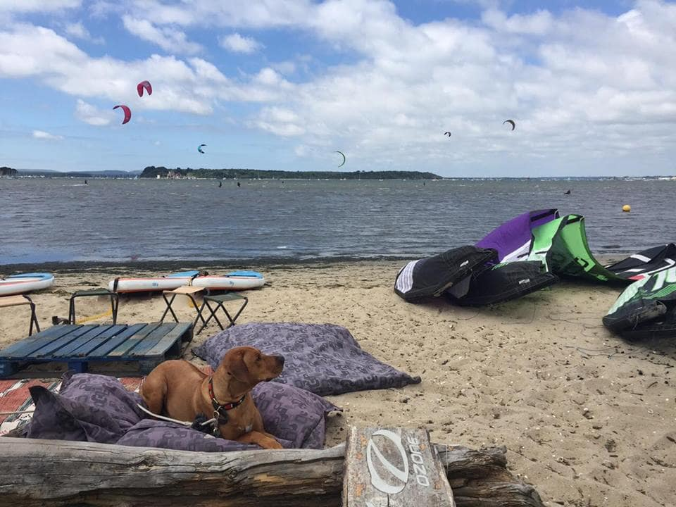 Kitesurfing in Poole