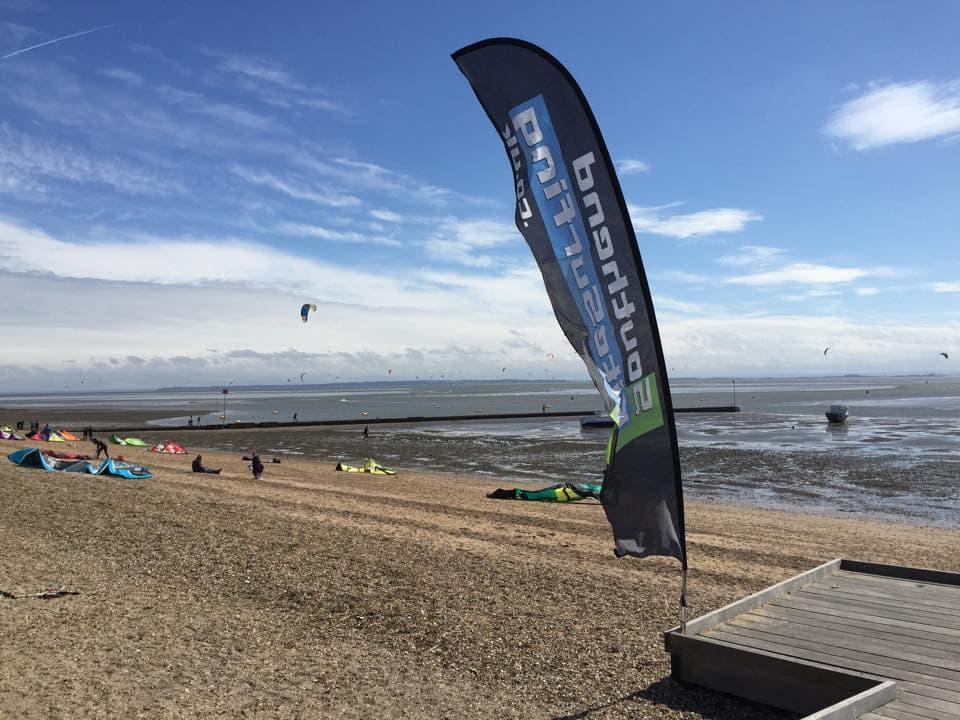 Kitesurfing in Southend-on-sea