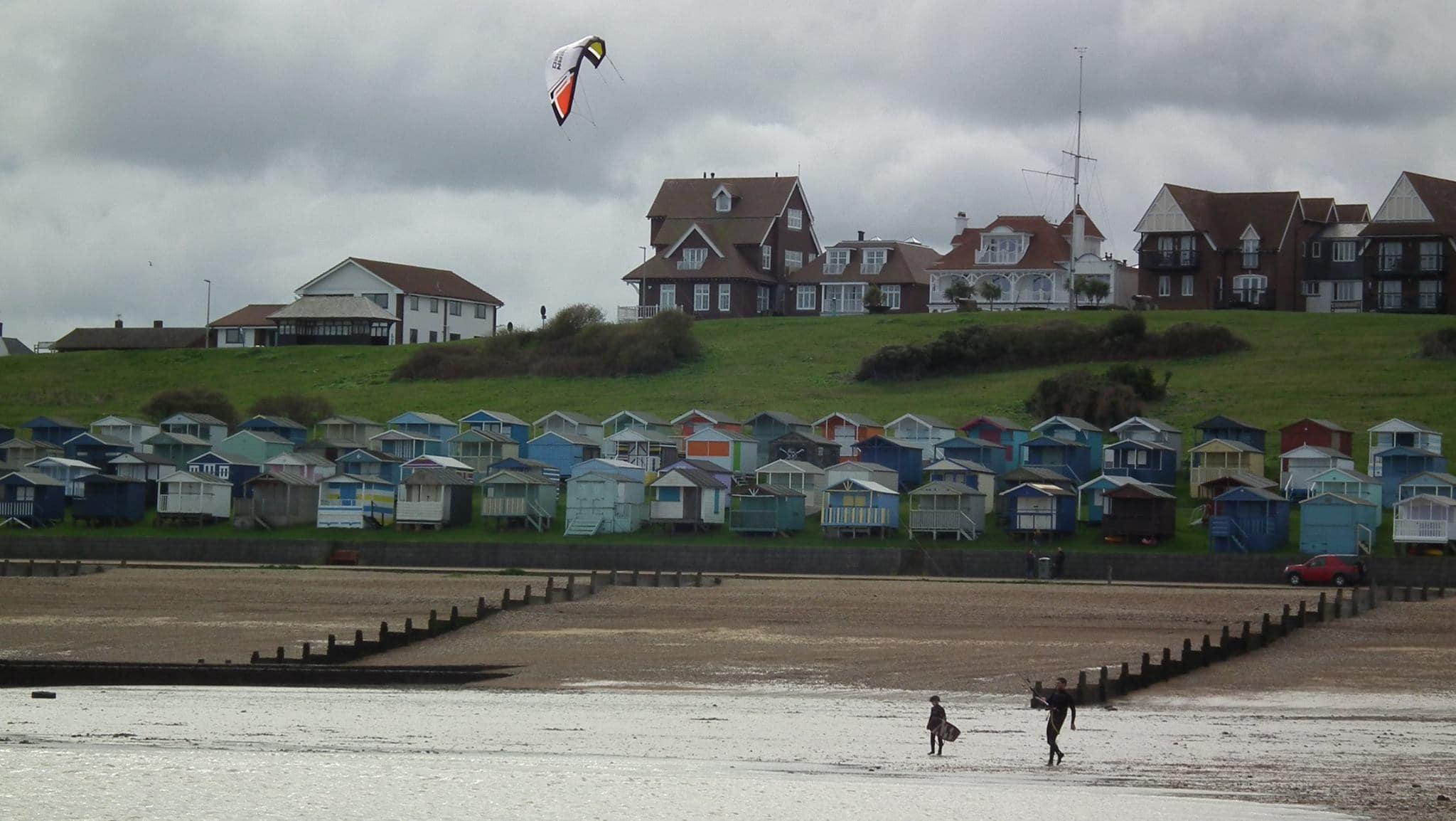 Kitesurfing in Whitstable