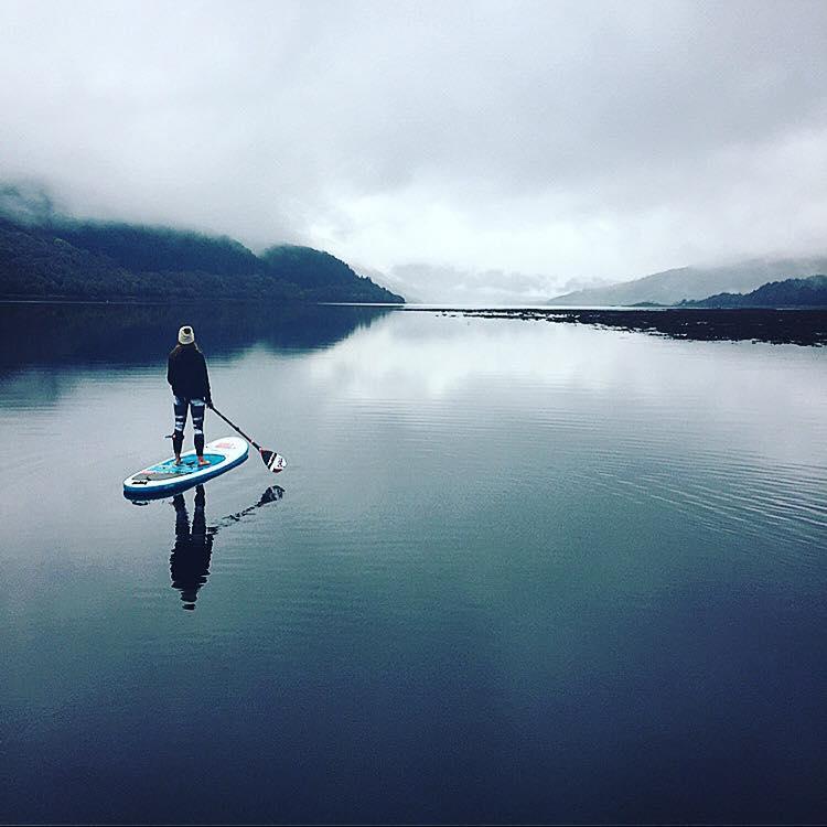 Loch Sunart in Scotland by Lizzie Outside