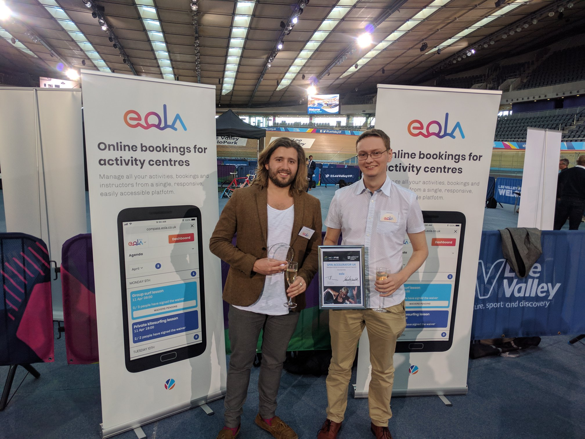eola wins an award