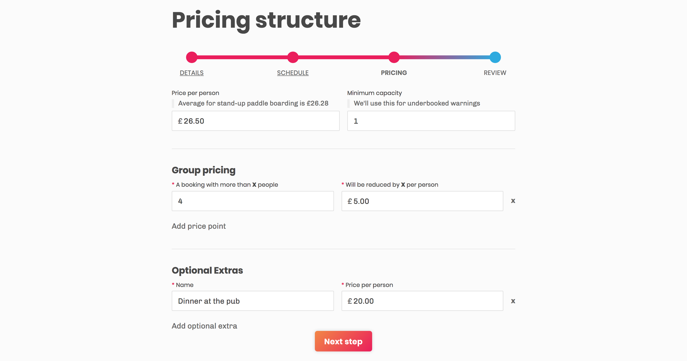 Pricing is super simple