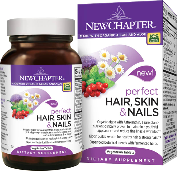 New Chapter - Perfect Healthy Hair, Skin & Nails Support - 30vc