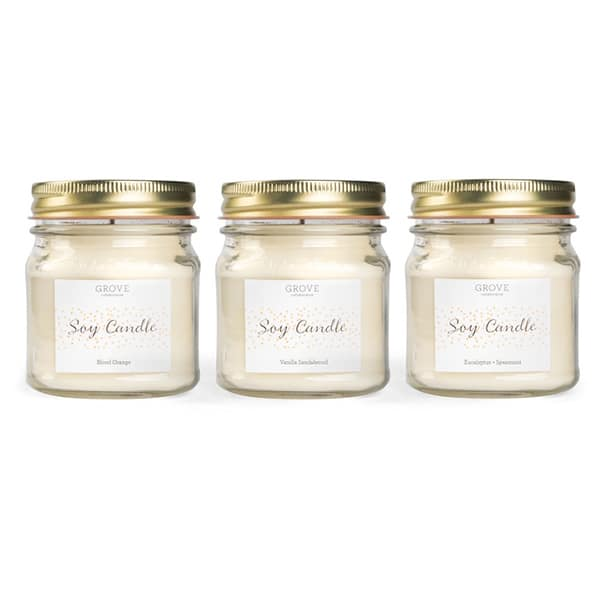 Grove Collaborative Complete Soy Candle Collection