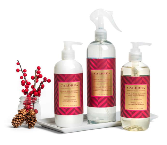 Caldrea Essential Holiday Bath Set