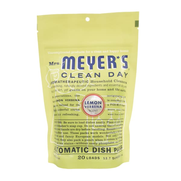 Mrs. Meyer's Clean Day Lemon Verbena Dish Packs