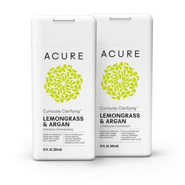Haircare Set - Curiously Clarifying Lemongrass