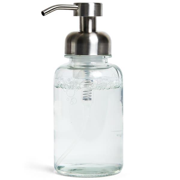 Grove Collaborative Glass Foaming Hand Soap Dispenser