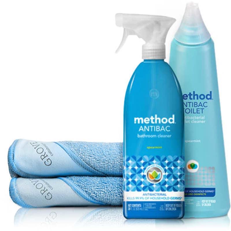 Method Clean Minute Toilet Cleaning Essentials Set