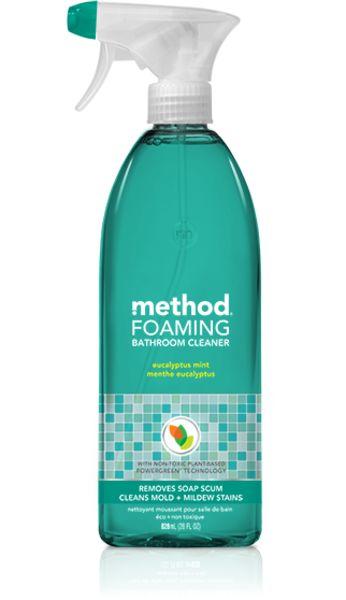Method. Foaming Bathroom Cleaner