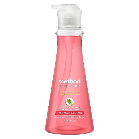 pink grapefruit method dish soap