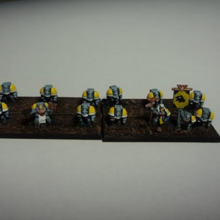 EpiComp 2012 Best Single Model (Pictured: Space Wolves Terminators - crusher)