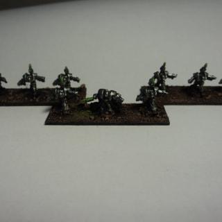 EpiComp 2012 Dark Realm Miniatures (Pictured: Necron Inmortals - crusher)