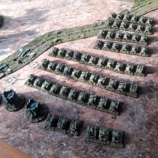EpiComp 2019 Best Battleforce (Pictured: Forming up for Dawn Attack - junkstar)