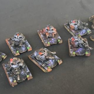 EpiComp 2019 Exodus Wars (Pictured: Edenite Tanks - Kalamarx)