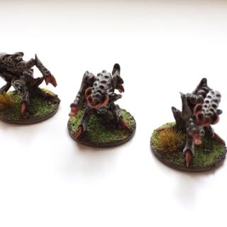 EpiComp 2017 Dark Realm Miniatures (Pictured: Hive Tyrants - Elrik)