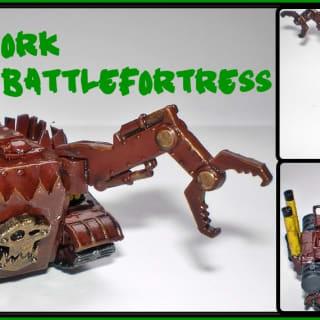 EpiComp 2014 Best War Engine (Pictured: Ork Battlefortress - Pati)