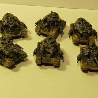 EpiComp 2014 Exodus Wars (Pictured: Edenite Tanks - Settra)