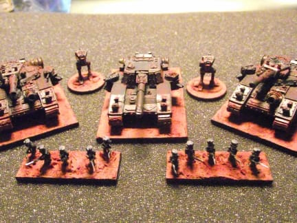 Red Base Troops - junkstar