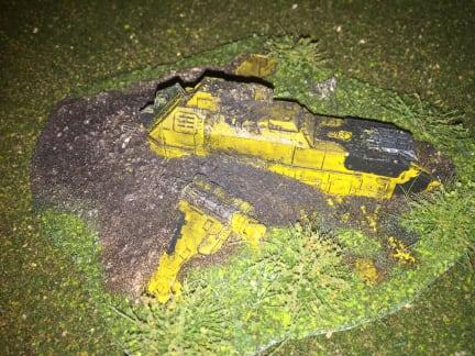 Crashed Thunderhawk - m_folais