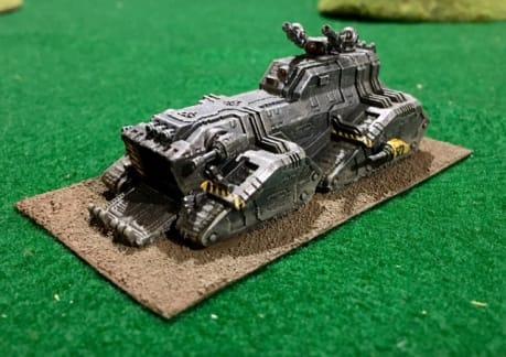 Iron Warriors Legion Stormer - captPiett