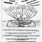 Dead Man's Bones Talent Show Poster