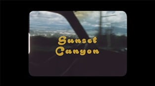 """Sunset Canyon"""