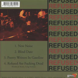 Refused - The New Noise Theology EP