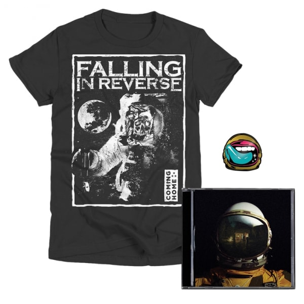 Coming Home CD, T-Shirt + Pin Bundle