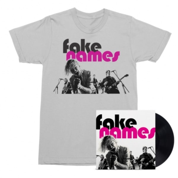 Fake Names LP + T-Shirt