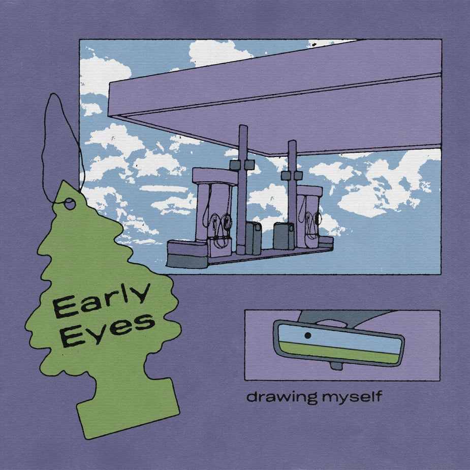 Early Eyes - Drawing Myself