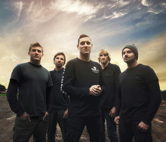 "Parkway Drive Premiere Video For ""Bottom Feeder"""