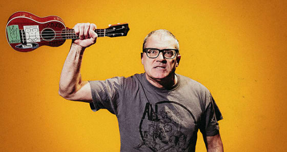 Descendents' Milo Aukerman, shares three-song single, as RebUke