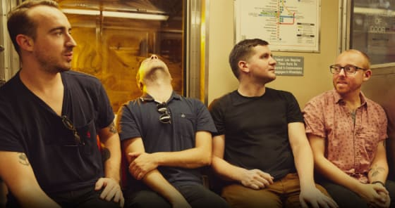 """The Menzingers Premeire """"After The Party"""" at Stereogum"""