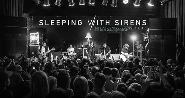 Sleeping With Sirens Announce 'Live and Unplugged'