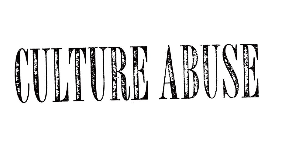 Culture Abuse Logo